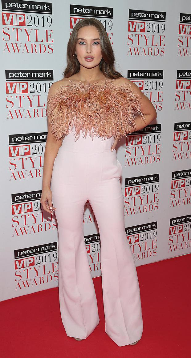 Roz Purcell at The Peter Mark VIP Style Awards 2019 at the Marker Hotel, Dublin. Picture: Brian McEvoy