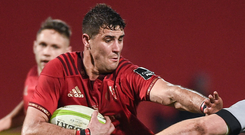 Munster offered Gerbrandt Grobler a chance of redemption despite his admission to using anabolic steroids when playing in his native South African. Photo by Diarmuid Greene/Sportsfile