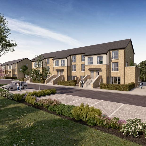 Apartment and duplex units at Elsmore, Naas