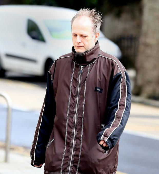 Accused: Daniel Belling arriving at court. Photo: Gerry Mooney