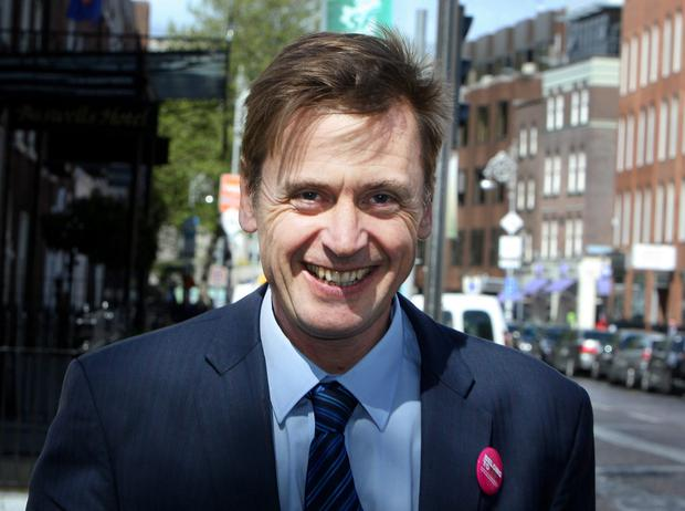Ratings row: Labour's Dominic Hannigan. Picture: Tom Burke