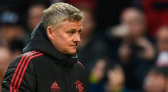 Manchester United manager Ole Gunnar Solskjaer. Photo: Oli Scarff/AFP/Getty