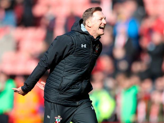 Southampton manager Ralph Hasenhuttl. Photo: Adam Davy/PA Wire