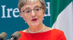 PUBLICATION: Minister for Children Katherine Zappone. Picture: Collins