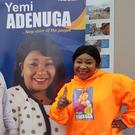 BOX SEAT: Yemi Adenuga, from Nigeria, is running for Fine Gael in Navan