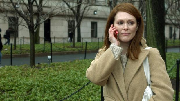 Julianne Moore in 'Still Alice', a poignant movie about dementia