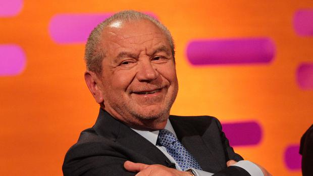 Lord Sugar tied the knot with wife Ann on April 28 1968 at Great Portland Street, London (Yui Mok/PA)