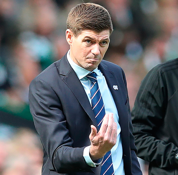 Rangers manager Steven Gerrard. Photo: Getty Images