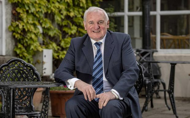 Warning: Bertie Ahern believes politicians risk a return to violence unless government is restored in the North. Photo: Domnick Walsh © Eye Focus