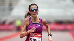 Born and raised in Belmullet, Diver (p) moved to Melbourne in 2002 after finishing college in UL. Photo: Ian Walton for Virgin Money London Marathon