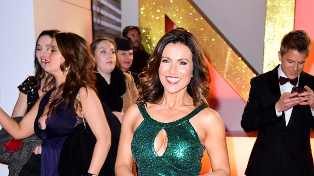 Susanna Reid has said she is 'fine' after splitting up with Steve Parish (Ian West/PA)