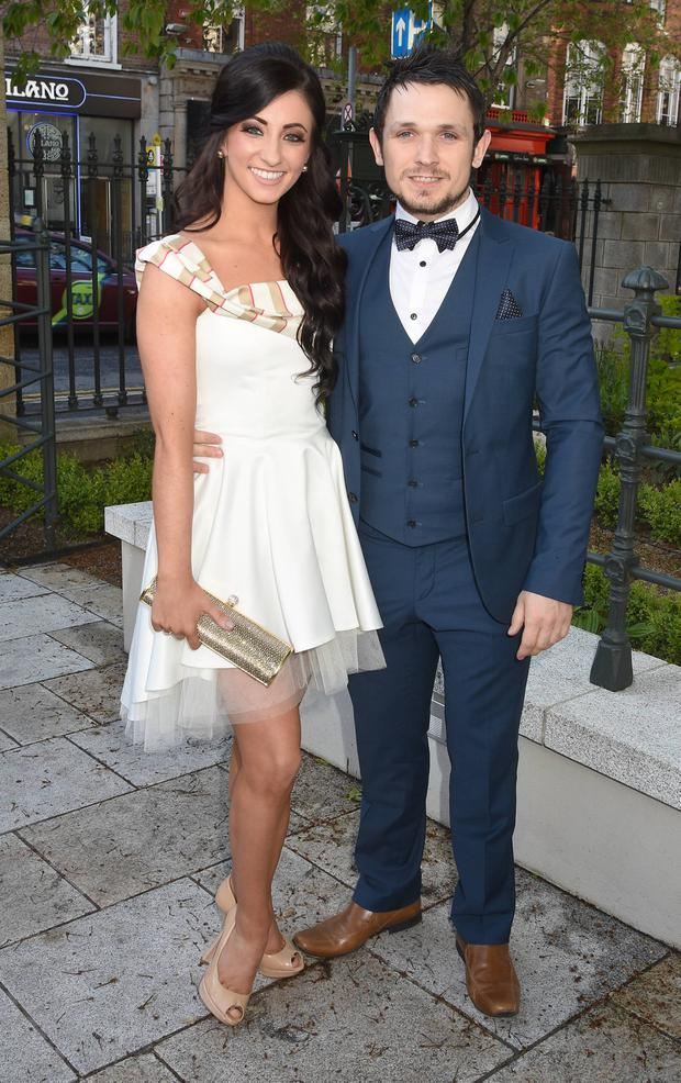 Rachel Tracey and Johnny Ward in 2015
