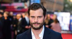 Jamie Dornan's accent was highlighted. Ian West/PA