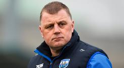 Waterford hurling manager Páraic Fanning. Photo: Daire Brennan/Sportsfile