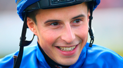 Jockey William Buick. Photo: Nigel French/PA