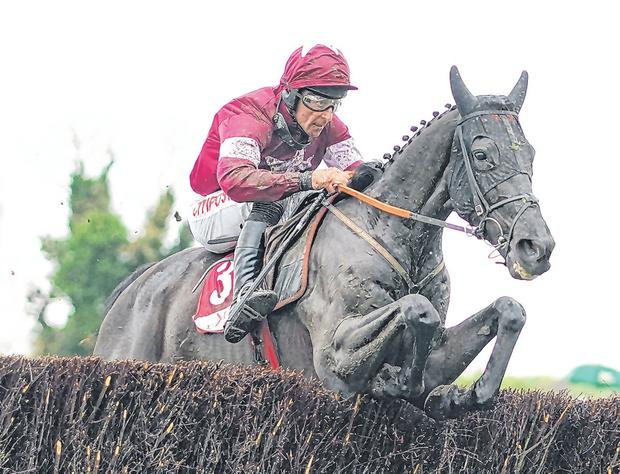Davy Russell guides Delta Work to victory. Photo: Alan Crowhurst/Getty Images)
