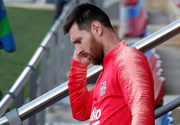 Barcelona's Lionel Messi. Photo: REUTERS/Albert Gea