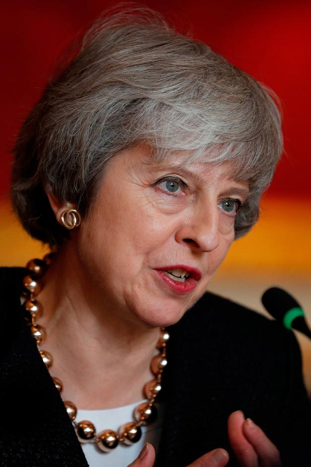 Challenges: British Prime Minister Theresa May. Picture: PA