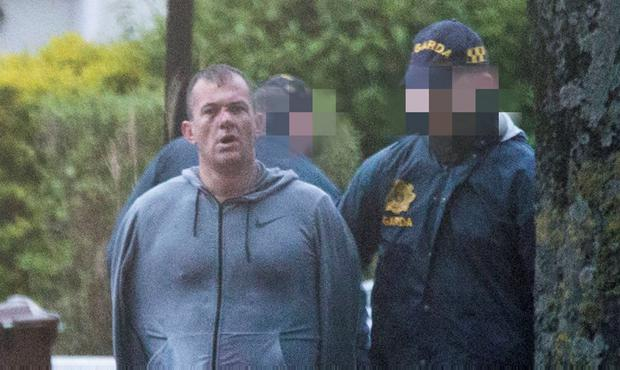 A man is arrested in a raid on a house at Walkinstown Avenue.