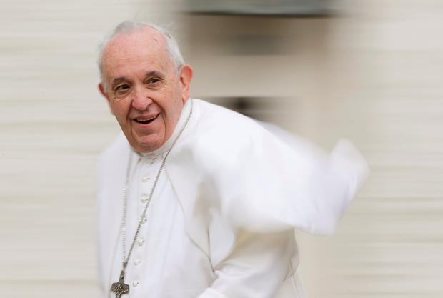 Pope Francis is accused of 'causing harm' to the Church. Photo: Reuters/Remo Casilli/File Photo