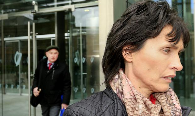 Imelda Quirke pictured leaving the Criminal Courts of Justice. Photo: Gerry Mooney