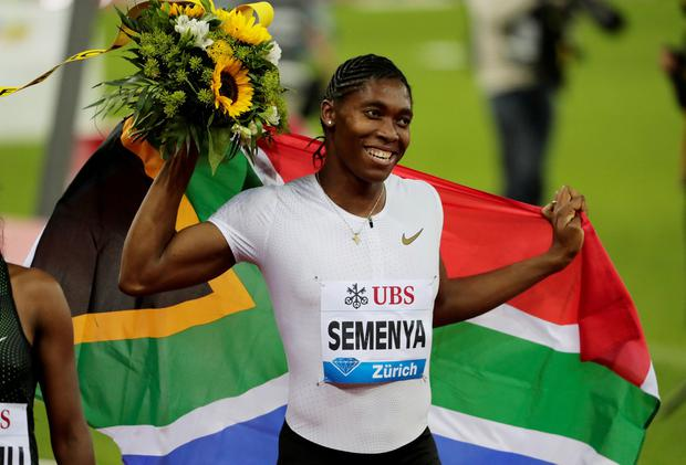 Controversy: Caster Semenya has a 'DSD' genetic condition. Photo: Reuters/Moritz Hager/File Photo