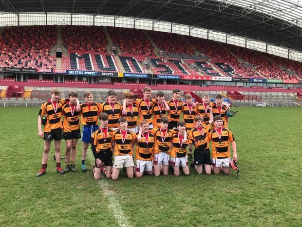 John the Baptist CS were the winners of the first year blitz at Thomond Park