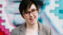 Murdered: Journalist Lyra McKee was shot dead as she tried to do her job reporting on riots in Derry. Photo: Reuters