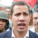 Juan Guaidó: Called for people of Venezuela to take to the streets. Photo: Carlos Garcia Rawlins