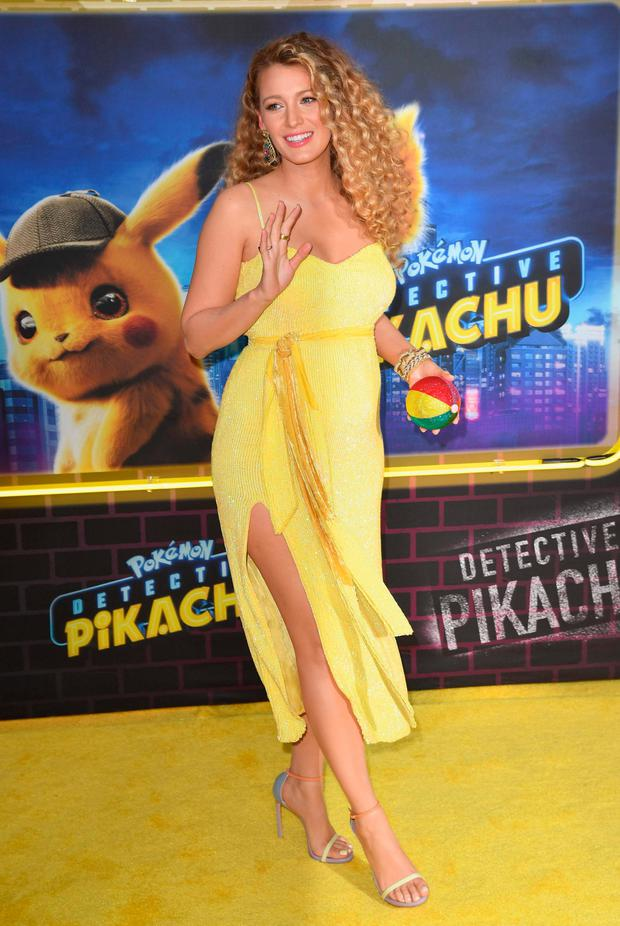 US actress Blake Lively attends the premiere of