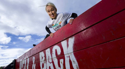 Stephanie Roche launches Hell and Back, the country's largest obstacle course run, which takes place in Killruddery Estate in Bray, Co Wicklow in June and October. In the lead up to, and during Hell and Back, sponsor Londis will raise funds for charity partner Pieta House.