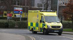 Previously, the 500 paramedics held shorter stoppages during working hours. Picture credit: Damien Eagers / INM