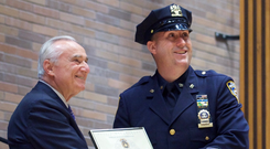 Pat Donohue's story is at once typical of the Irish-American experience and yet truly remarkable. He followed the well-worn path from the green of Gaelic Park to the blue of the NYPD