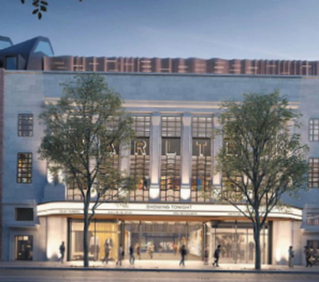 Hammerson's designs include a revamp of the iconic Carlton cinema