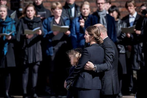 CEO of clothing brand Bestseller, Anders Holch Povlsen, and his wife Anne attend the funeral service for their three children who were victims of a string of suicide bomb attacks in Sri Lanka on April 21, at the Aarhus Cathedral in Aarhus, Denmark May 4, 2019. Ritzau Scanpix/Mads Claus Rasmussen/via REUTERS