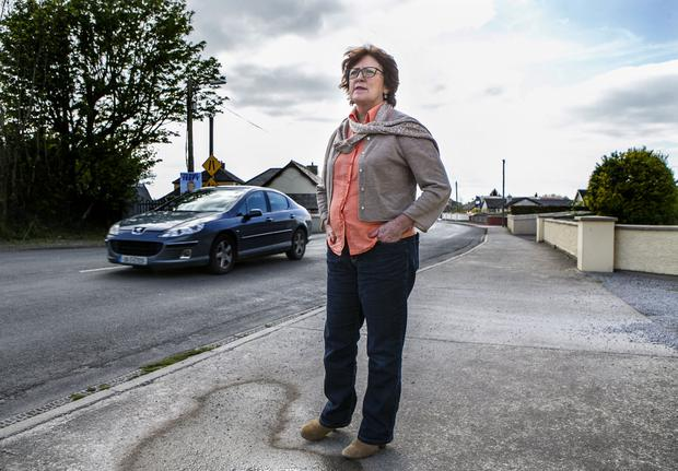 RECOLLECTIONS: Retired policewoman Catherine Costello took notes as Mary Lowry confessed her affair. Photo: Kyran O'Brien