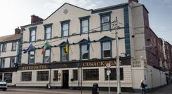 HISTORIC LOCATION: Hayes Hotel in Thurles, where the two men met after Pat Quirke discovered Mary Lowry was seeing Bobby Ryan. Picture: INM/Sunday World