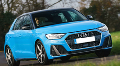 Stylish: The new Audi A1 has great range through the six-speed manual box
