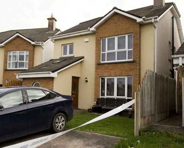 A home in The Crescent, Meadowvale, Arklow, where Stephen Kavanagh was fatally wounded