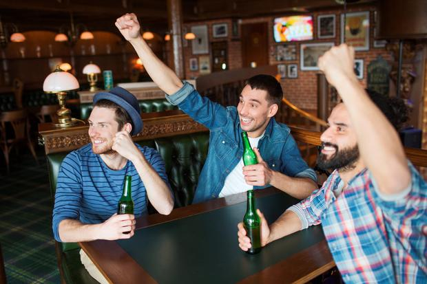 'All-male gatherings of any sort create their own peculiar, dystopian dynamic' Stock photo