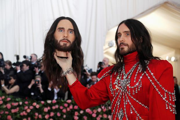 Metropolitan Museum of Art Costume Institute Gala - Met Gala - Camp: Notes on Fashion - Arrivals - New York City, U.S. - May 6, 2019 - Jared Leto. REUTERS/Mario Anzuoni TPX IMAGES OF THE DAY