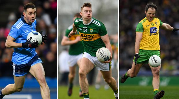 Cormac Costello, Jame O'Donoghue and Michael Murphy
