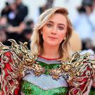 US/Irish actress Saoirse Ronan arrives for the 2019 Met Gala at the Metropolitan Museum of Art on May 6, 2019, in New York