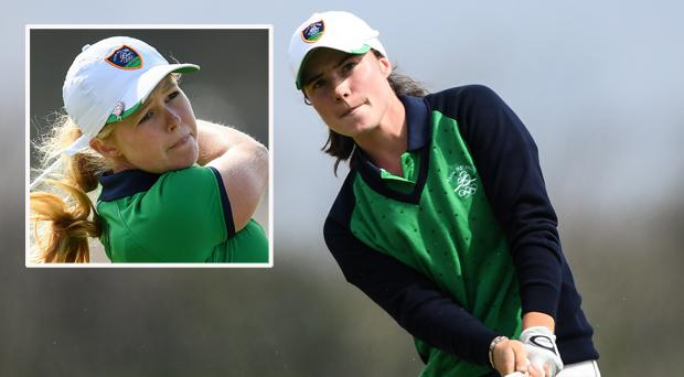 Leona Maguire and (inset) Stephanie Meadow
