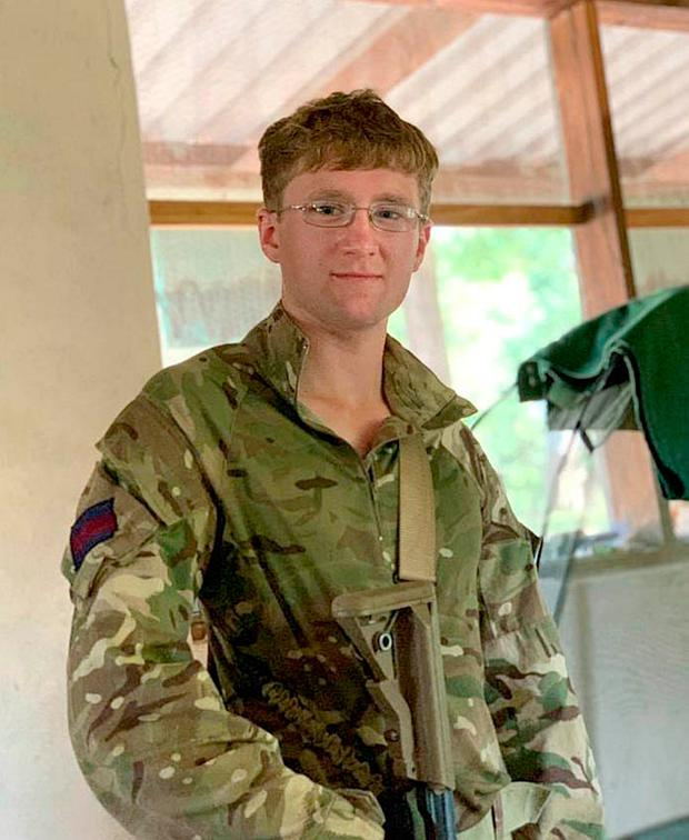 British soldier Mathew Talbot, of The 1st Battalion Coldstream Guards, who has died while on counter poaching operations in It is understood Guardsman Talbot was killed by an elephant whilst on patrol. Photo: Ministry of Defence/PA Wire