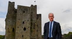 International team managers Mick McCarthy and Colin Bell visited Trim Castle and the Knightsbrook Hotel to officially launch the 2019 Football Association of Ireland AGM and Festival of Football Stephen McCarthy/Sportsfile