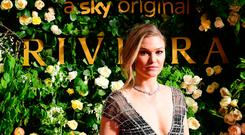 Julia Stiles attending the season two of Riviera Premiere hosted at Saatchi Gallery on 7 May - Series 2 airs on Sky Atlantic and NOW TV 23 May - in London. PRESS ASSOCIATION Photo. Picture date: Tuesday May 7, 2019. Photo credit should read: PA Images on behalf of Sky Atlantic