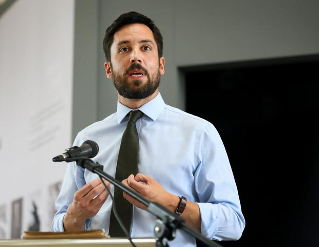 Pressure: Housing Minister Eoghan Murphy faced a no-confidence motion in the Dáil in September. Photo: Frank McGrath