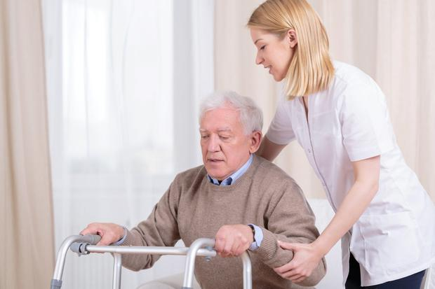 Option: Residents of nursing homes can opt to defer the Fair Deal payments until after their death. Stock picture