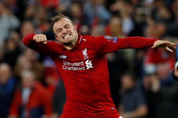 Liverpool's Xherdan Shaqiri has declined a call-up for the Switzerland squad